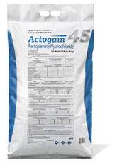 ACTOGAIN is available in 25-pound bags from feed additive distributors or feed companies.