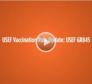 USEF Vaccination Rule Update