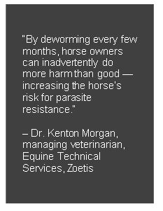Controlling Parasites in Horses, Without Contributing to