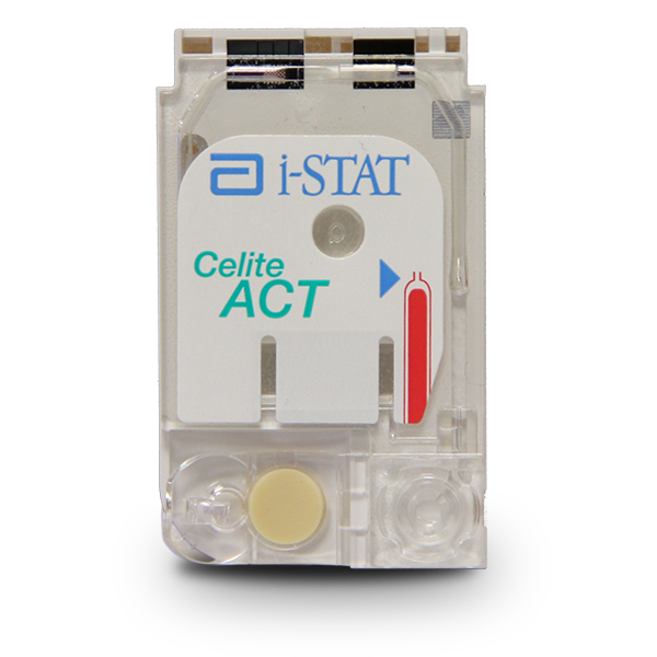 i-STAT ACT Celite Cartridge Image