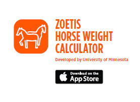 ZOETIS HORSE WEIGHT CALCULATOR